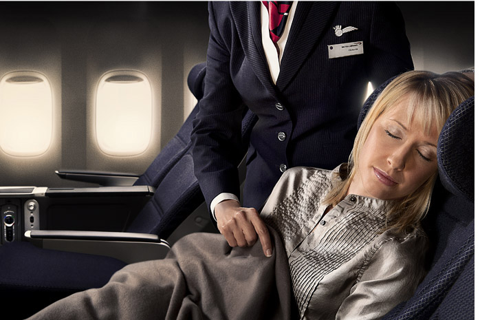 Forpeople / British Airways - Photograph by Jill Mead
